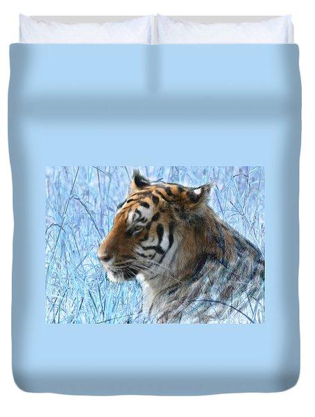 Bluegrass Tiger Duvet Cover