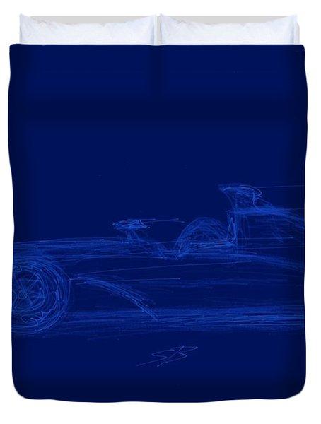 Blueprint For Speed Duvet Cover
