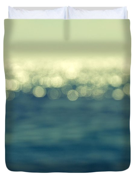 Blurred Light Duvet Cover by Stelios Kleanthous