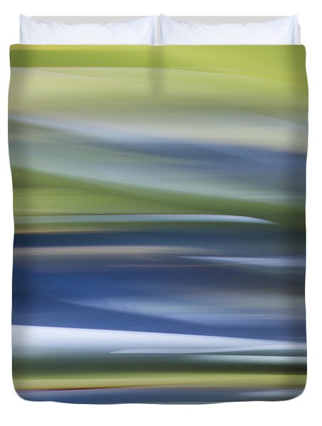 Blurscape Duvet Cover by Dayne Reast