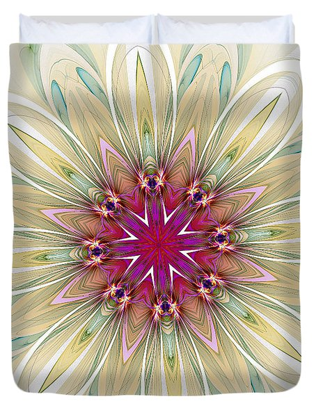 Blushing Colors Duvet Cover
