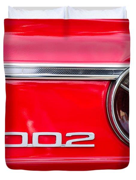 Bmw 2002 Taillight Emblem Duvet Cover by Jill Reger