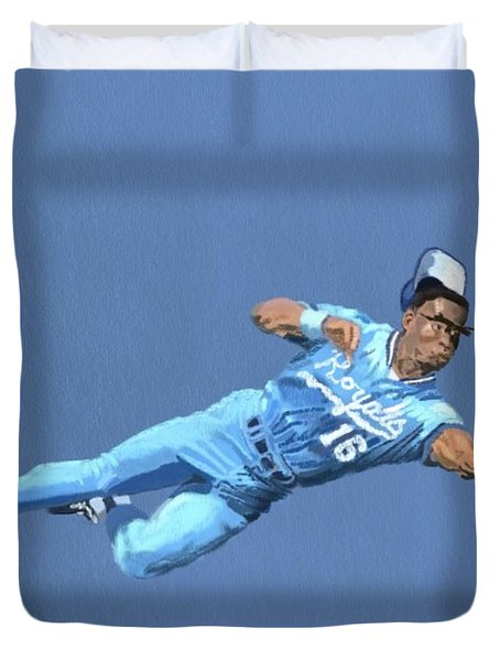 Bo Knows Defense Duvet Cover
