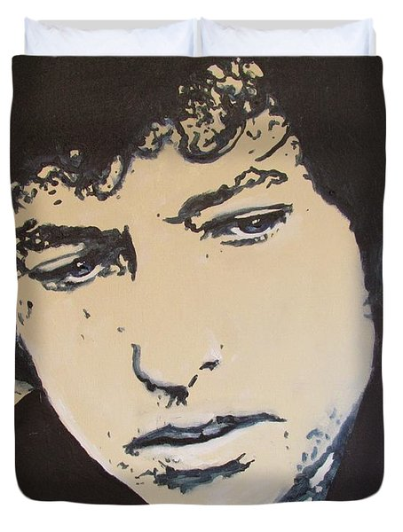 Bob Dylan - It's Alright Ma Duvet Cover