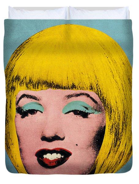 Bob Marilyn  Duvet Cover by Filippo B