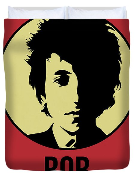 Bob Poster 1 Duvet Cover by Naxart Studio