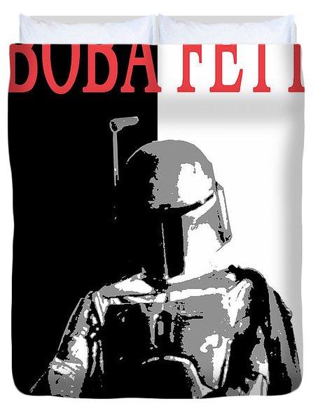 Boba Fett- Gangster Duvet Cover by Dale Loos Jr
