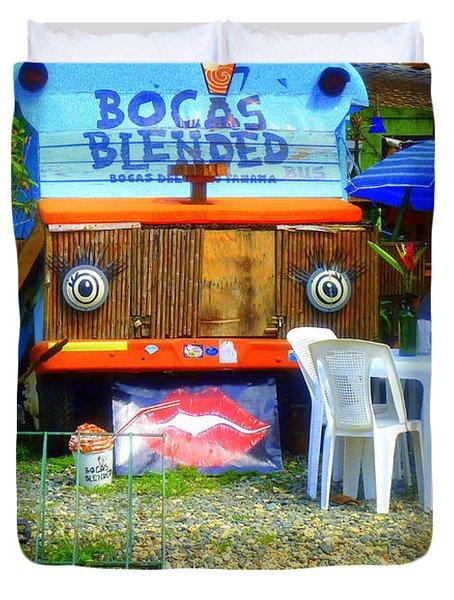 Bocas Blended Duvet Cover by Kris Hiemstra