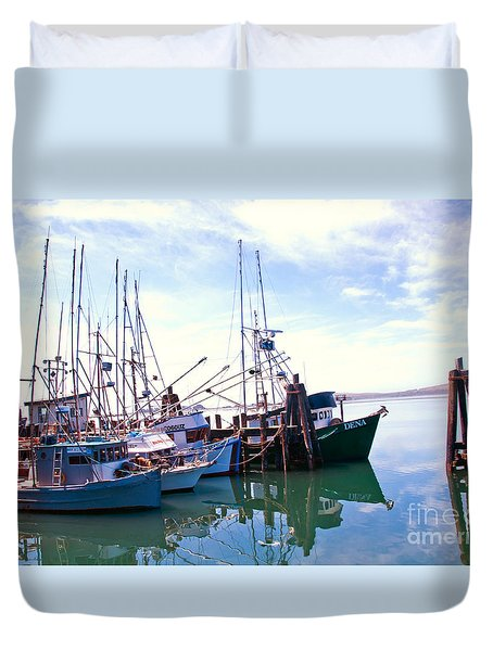 Bodega Bay Duvet Cover