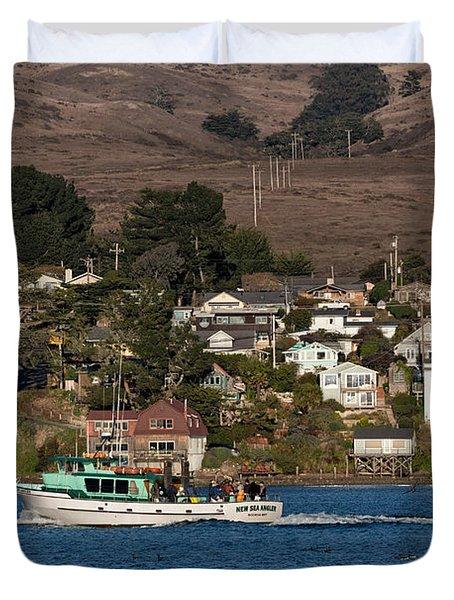 Bodega Bay In December Duvet Cover