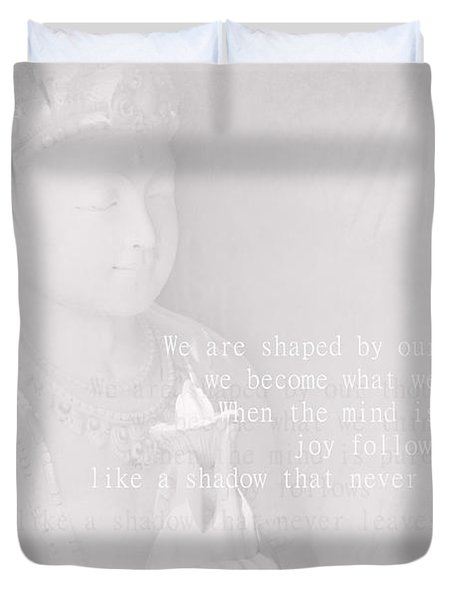 Bodhisattva Duvet Cover