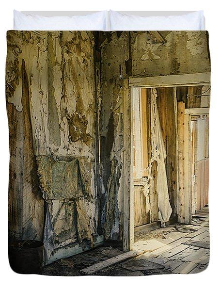Bodie California Forgotten Ballroom Duvet Cover by LeeAnn McLaneGoetz McLaneGoetzStudioLLCcom