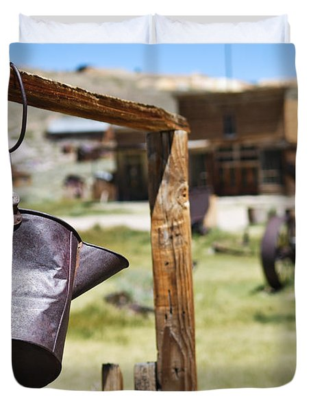 Bodie Ghost Town 2 - Old West Duvet Cover