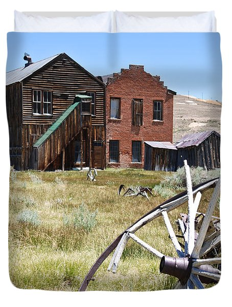 Bodie Ghost Town 3 - Old West Duvet Cover