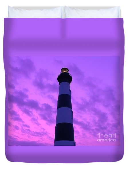 Bodie Beacon Duvet Cover by Al Powell Photography USA