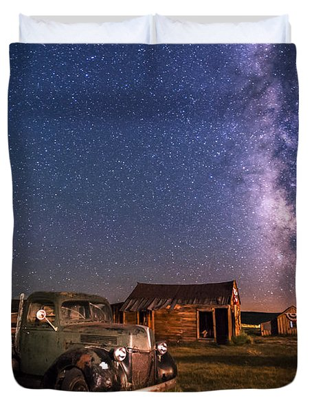 Bodie Nights Duvet Cover by Cat Connor