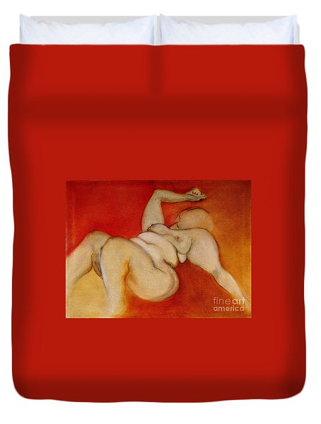 Body Of A Woman Duvet Cover