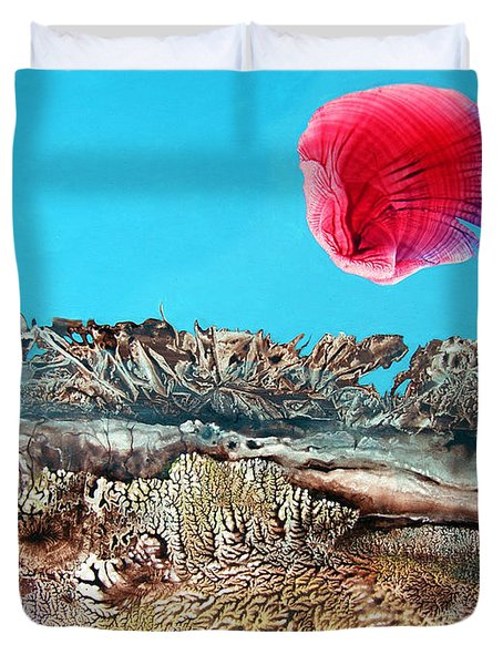 Bogomil Sunrise 2 Duvet Cover by Otto Rapp
