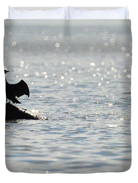 Duvet Cover featuring the photograph Bokeh by Randi Grace Nilsberg