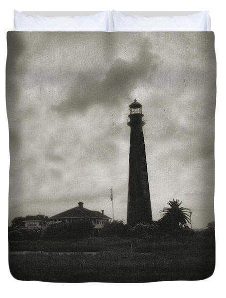 Bolivar Lighthouse Duvet Cover
