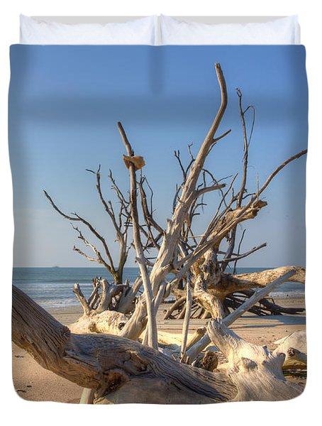 Boneyard Beach Duvet Cover
