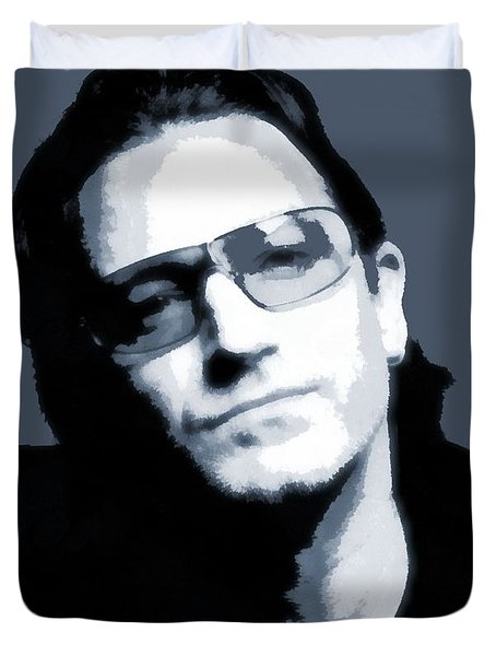 Bono Duvet Cover by Dan Sproul