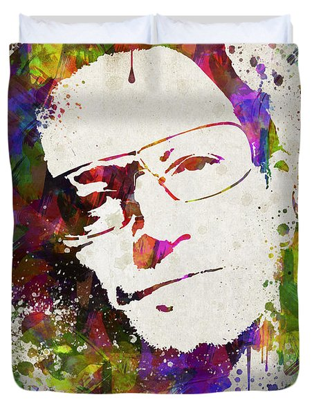 Bono In Color Duvet Cover by Aged Pixel