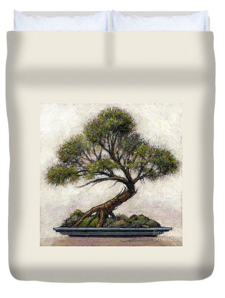 Bonsai Cedar Duvet Cover