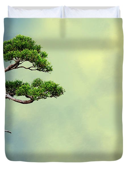 Bonsai Glow Duvet Cover by John Haldane