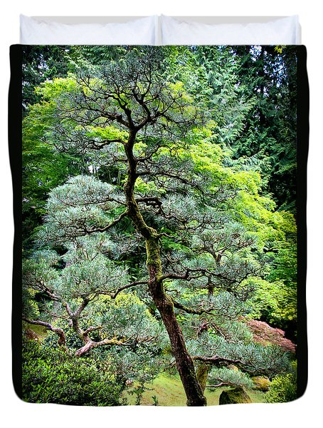 Bonsai Tree Duvet Cover by Athena Mckinzie