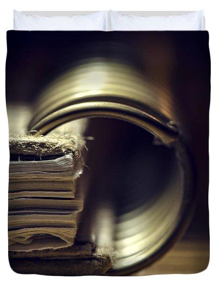 Book Of Secrets Duvet Cover