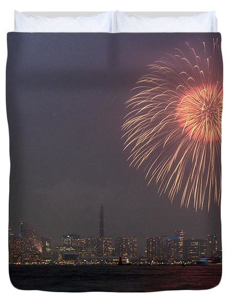 Boom In The Sky Duvet Cover