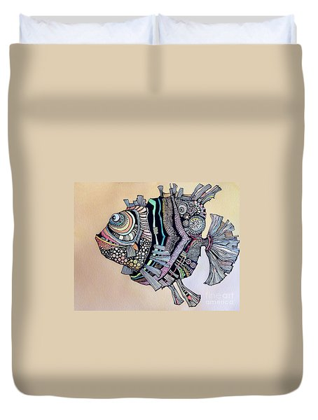 Boomer The Fish Duvet Cover