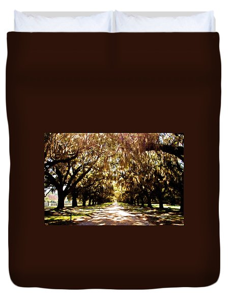 Boone Plantation Duvet Cover by Bill Howard