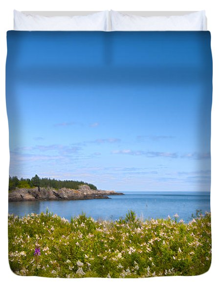 Duvet Cover featuring the photograph Boot Head by Alana Ranney