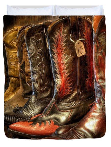 Boot Rack Duvet Cover