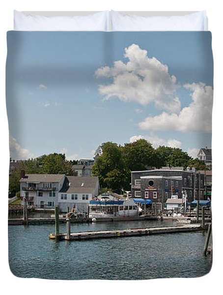 Boothbay Harbor 1242 Duvet Cover