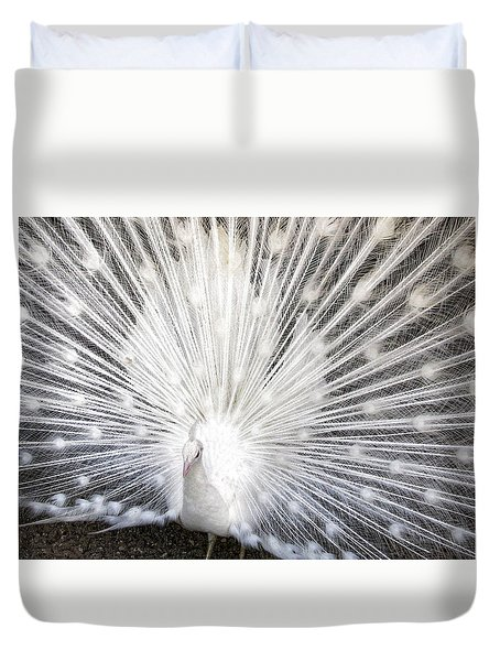 Duvet Cover featuring the photograph Booya by Tammy Espino