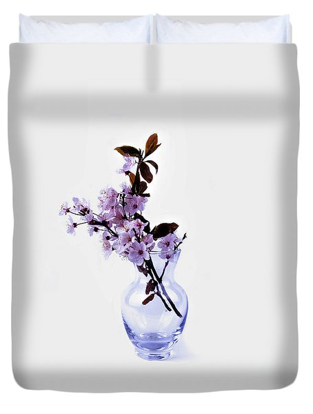 Boquet Of Blossoming Flowers Duvet Cover Duvet Cover