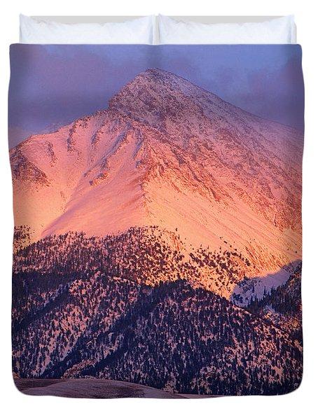 Borah Peak  Duvet Cover