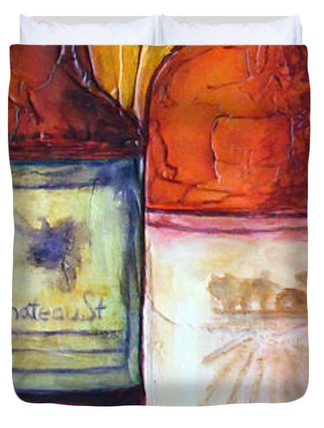 Bordeaux Vino Duvet Cover