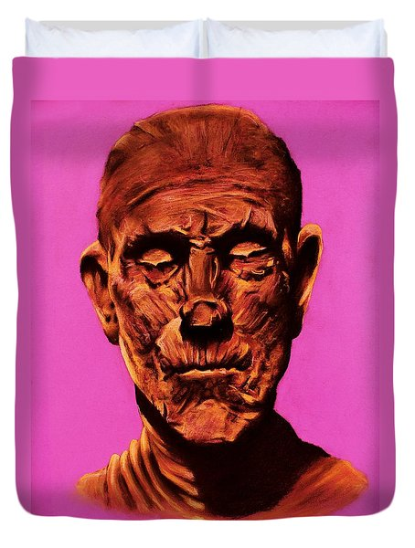 Borris 'the Mummy' Karloff Duvet Cover