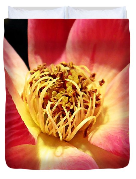 Borrowed Rose Duvet Cover by Chris Berry