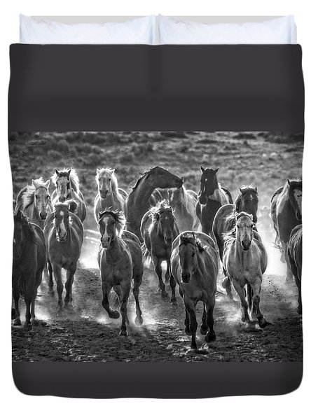 Boss Hoss Duvet Cover