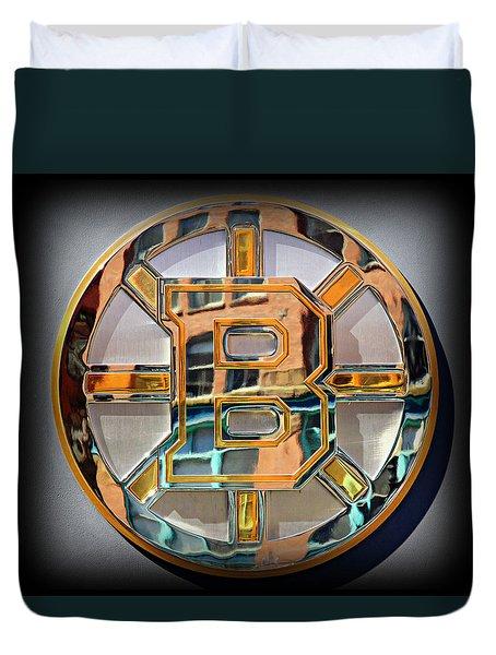 Boston Bruins Duvet Cover