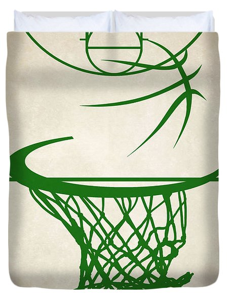Boston Celtics Court Duvet Cover