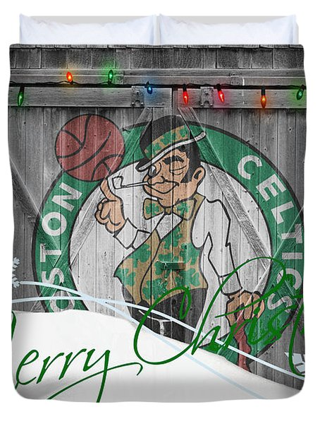 Boston Celtics Duvet Cover