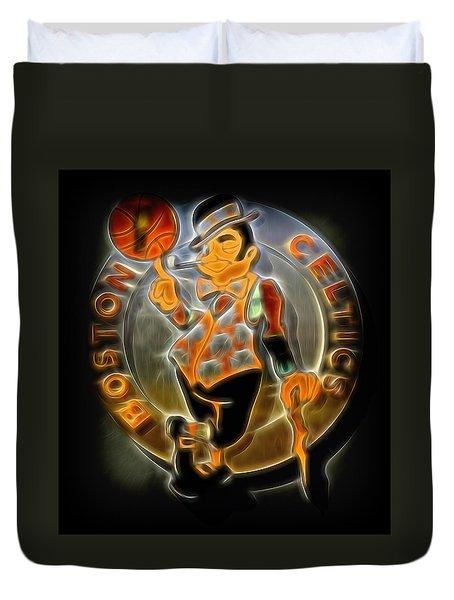 Boston Celtics Logo Duvet Cover