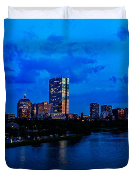 Boston Evening Duvet Cover by Rick Berk