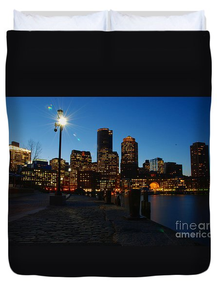 Boston Harbour Duvet Cover
